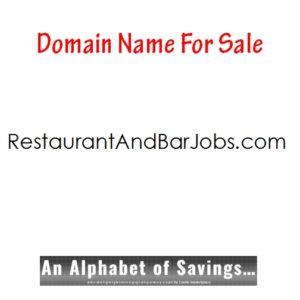 RestaurantAndBarJobs.com